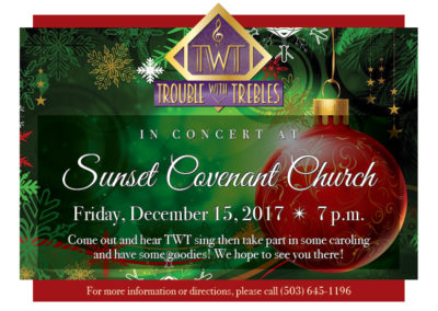 Christmas Concert at Sunset Covenant Church (2017)