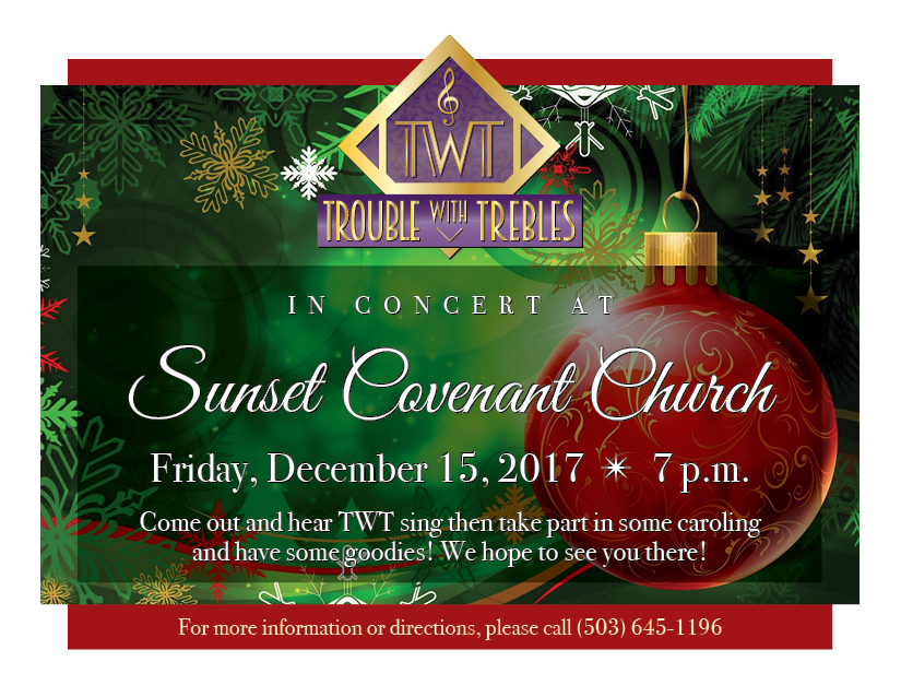 Sunset Covenant Church Holiday Concert Handout 2017