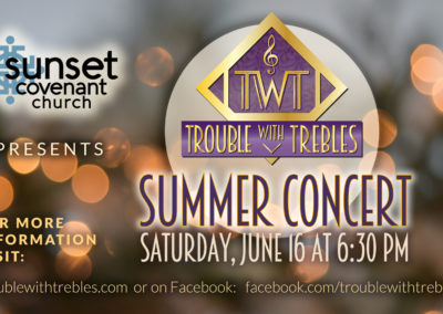Summer Concert at Sunset Covenant Church (2018)